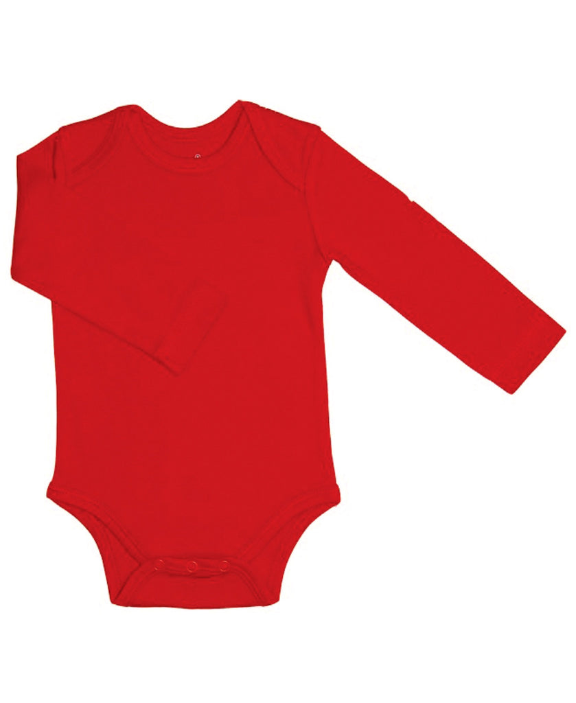 Canboli red baby vest