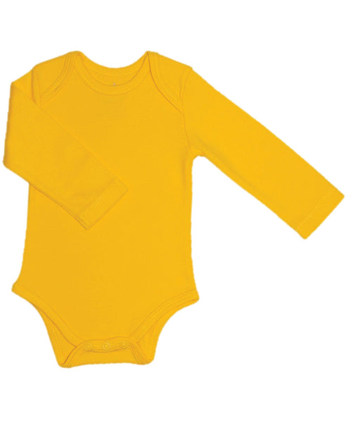 Canboli yellow baby vest