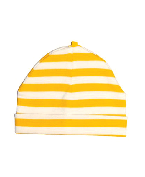 Canboli yellow striped baby hat
