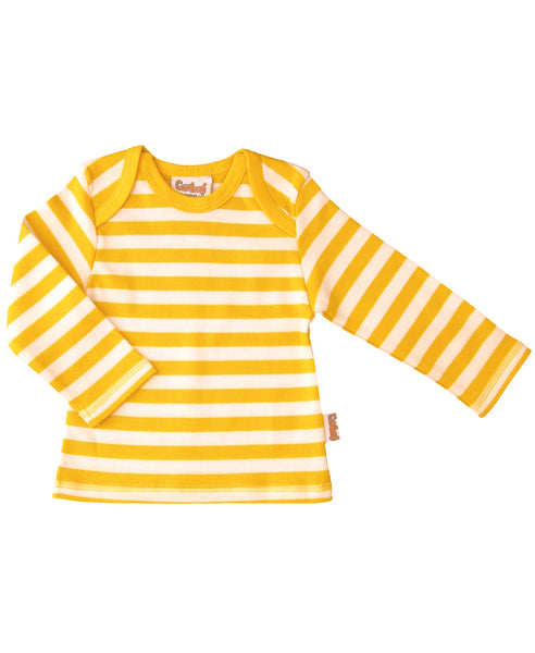Canboli yellow striped top