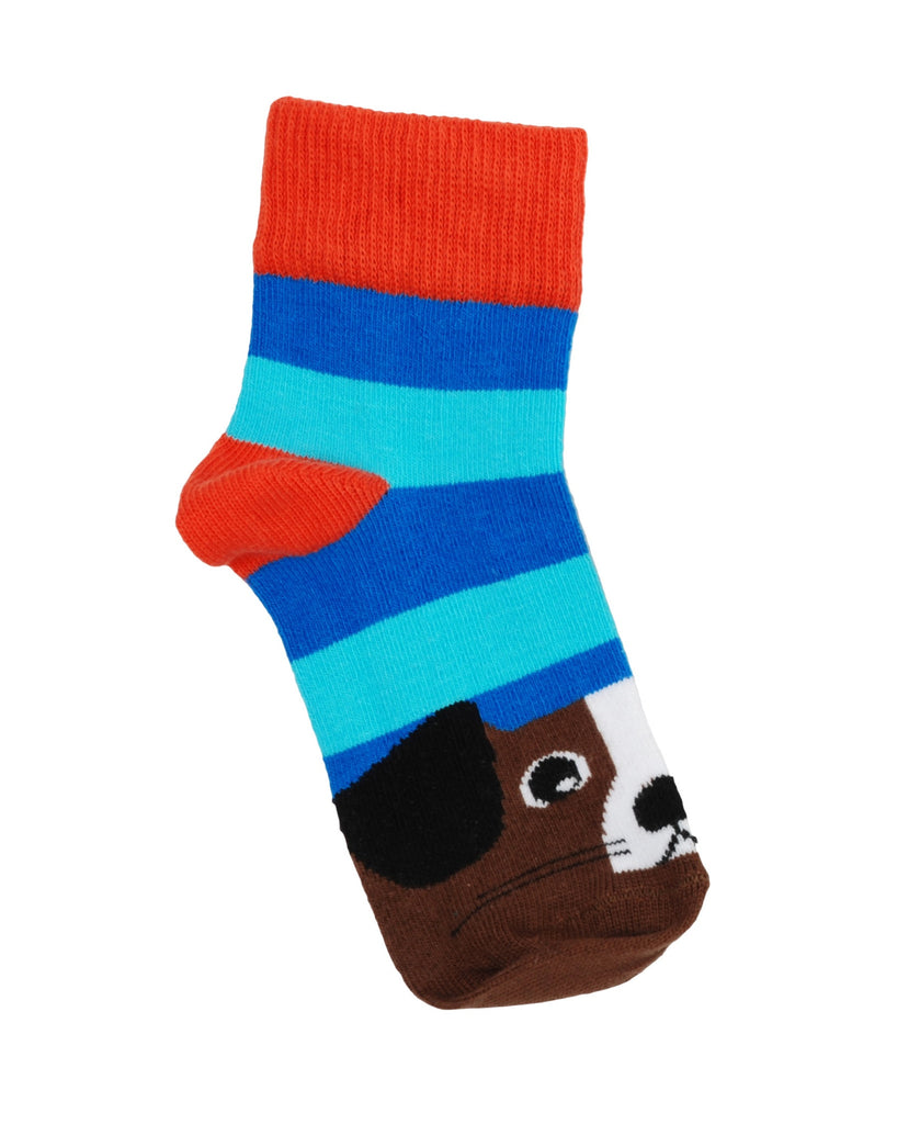 DUNS Sweden purple panda baby socks