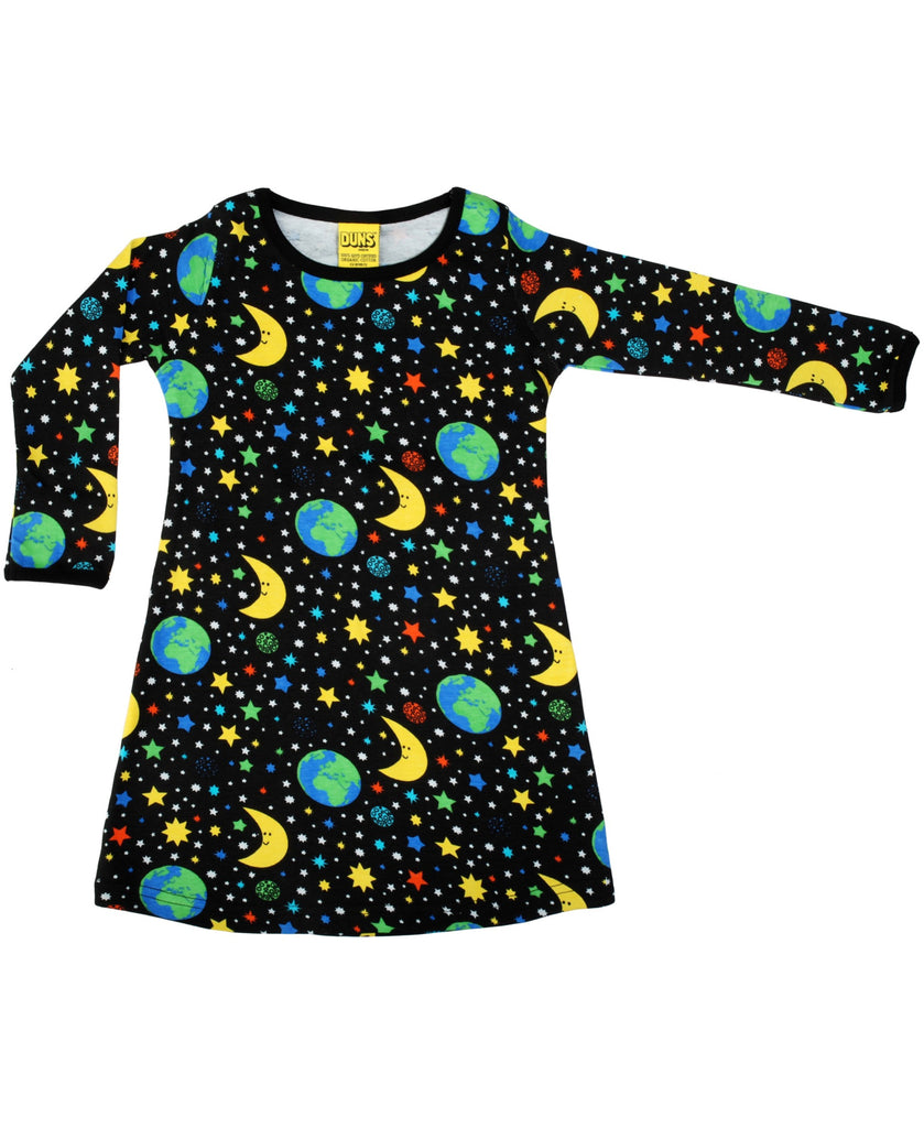 DUNS Sweden black Mother Earth dress