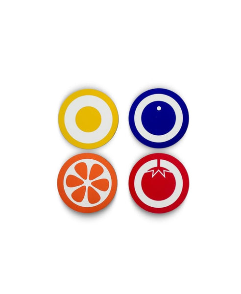 Hokolo fruit coasters