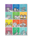 Jane Foster zodiac tea towel