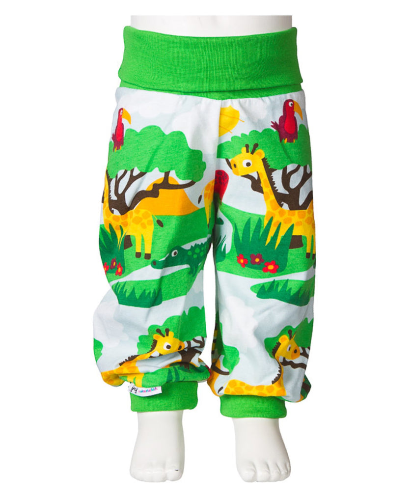 JNY Design safari print baby trousers