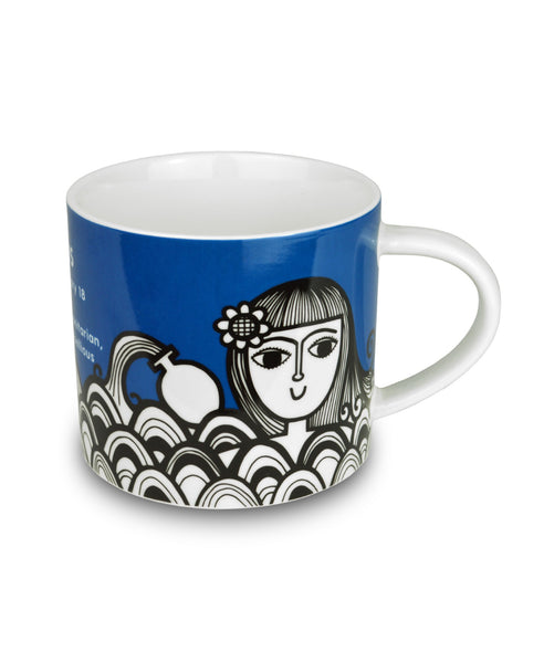Jane Foster aquarius mug illustration side