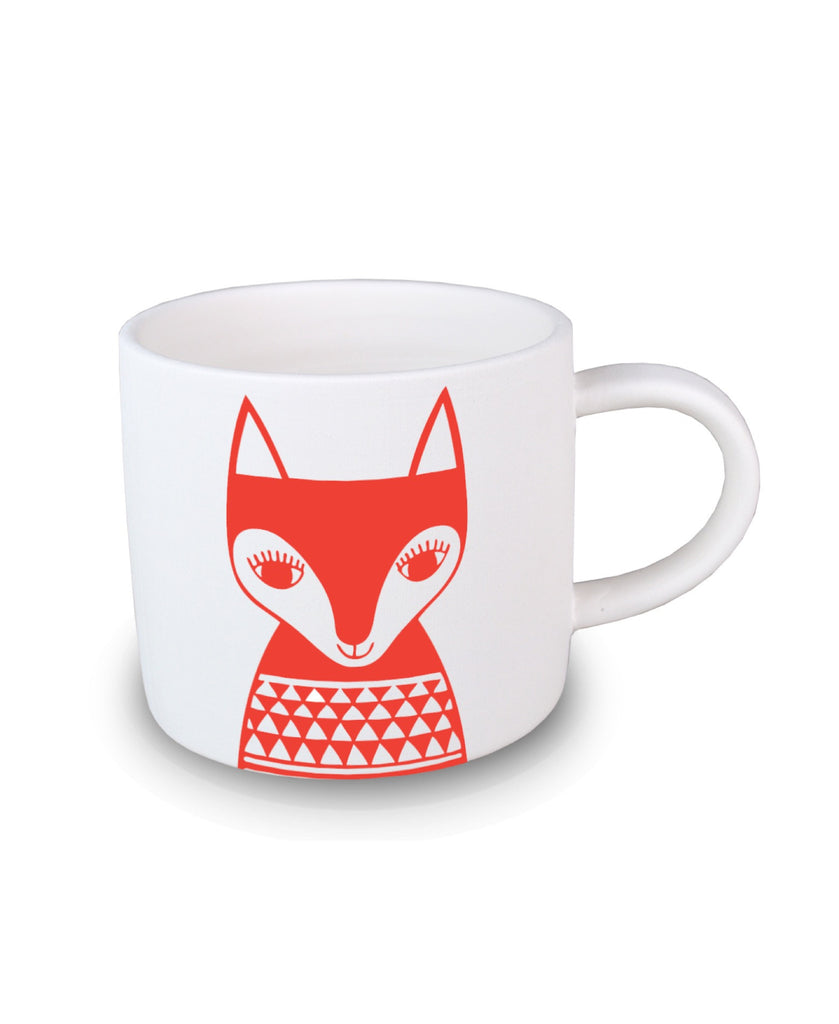 Jane Foster red fox mini mug