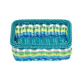 Kitsch Kitchen blue storage basket