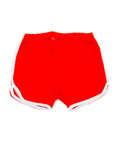 Lily Balou fiery red Arthur terry shorts