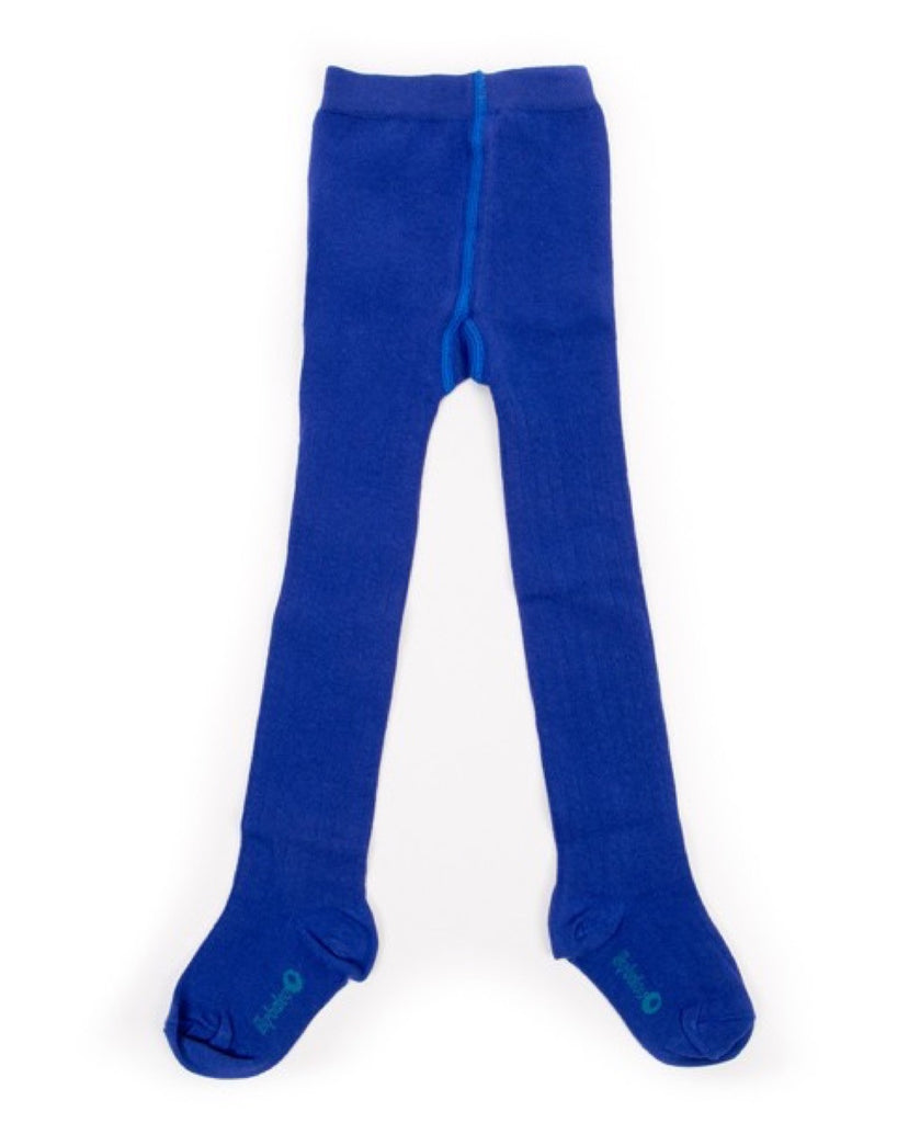 Lily Balou organic royal blue Eva kids tights