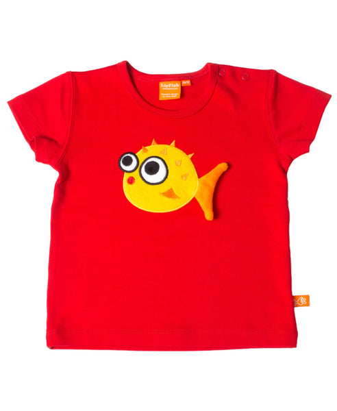Lipfish red blowfish t-shirt