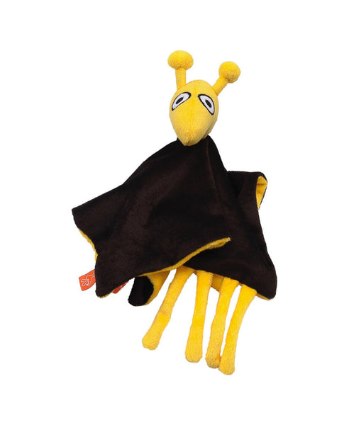 Lipfish brown giraffe cuddle blanket