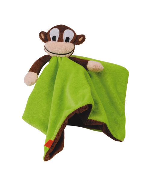 Lipfish green monkey cuddle blanket