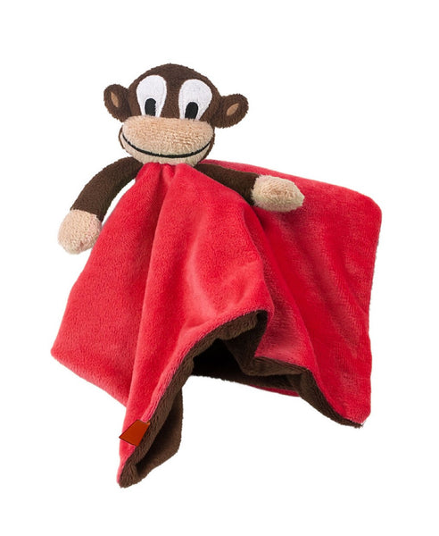 Lipfish red monkey cuddle blanket