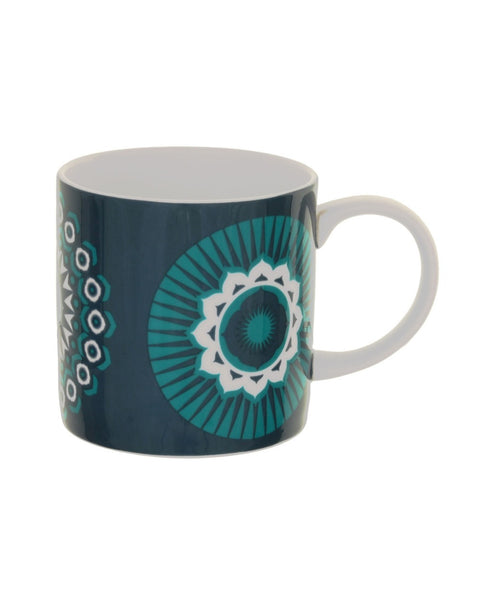 Mini Moderns blue darjeeling mug