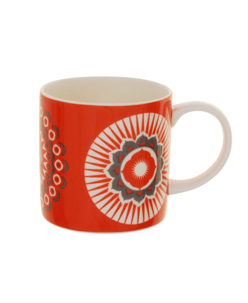 Mini Moderns orange darjeeling mug