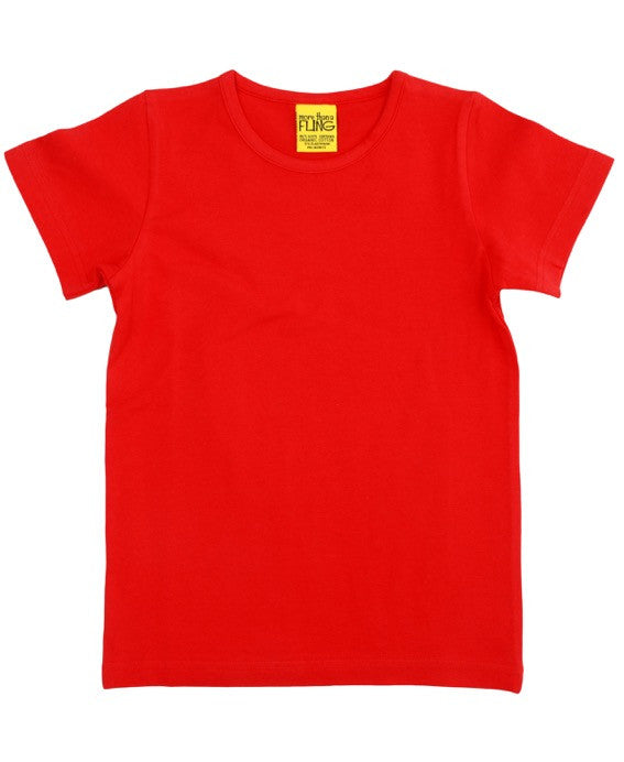 More Than A Fling red t-shirt