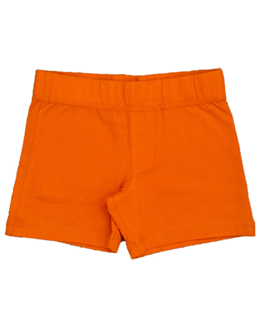 More Than A Fling orange shorts