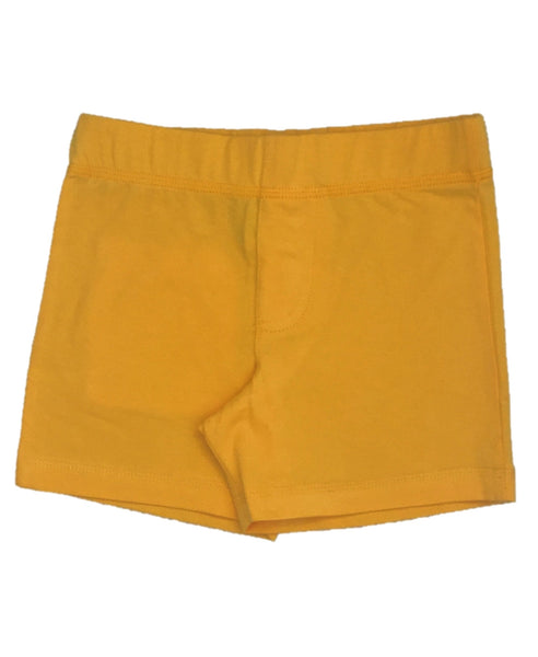 More Than A Fling yellow shorts