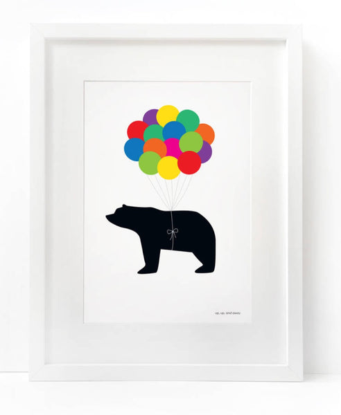 Heather Alstead up, up and away art print