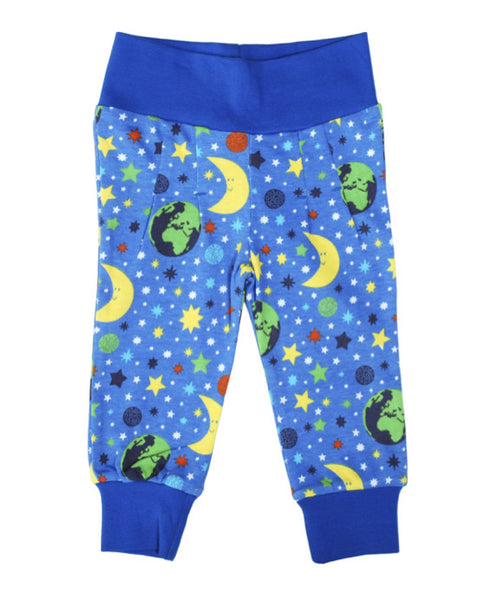 DUNS Sweden blue Mother Earth baby trousers