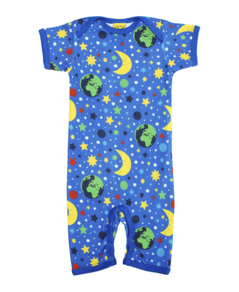 DUNS Sweden blue Mother Earth playsuit
