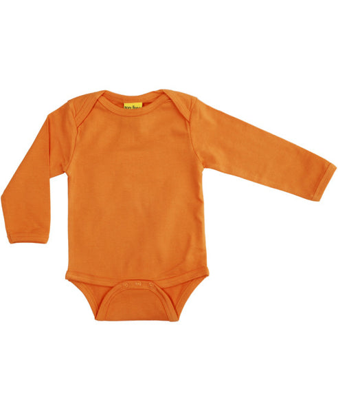 More Than a Fling orange baby vest