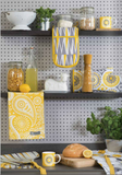 Mini Moderns yellow kitchen products