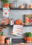 Mini Moderns orange kitchen products