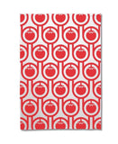Hokolo red tomato tea towel