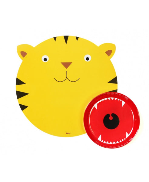 DOIY tiger hungry mat