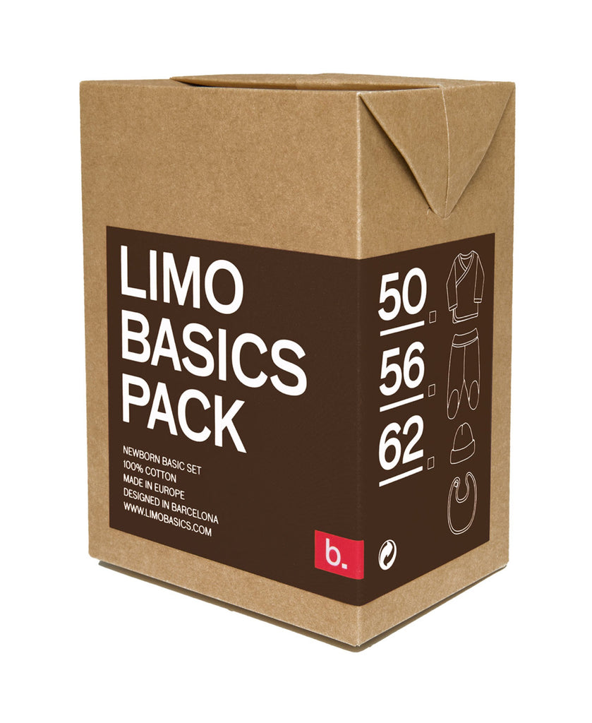 Limo Basics chocolate brown baby gift pack