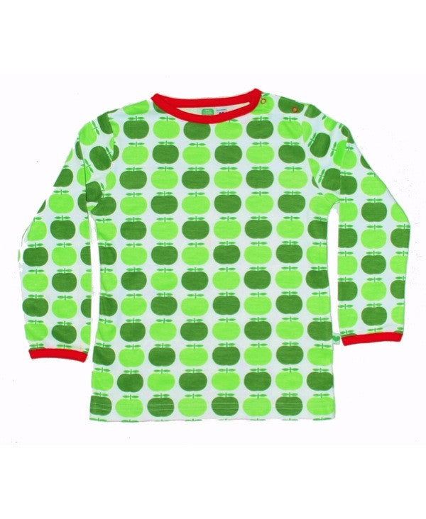 Sture & Lisa green apple top