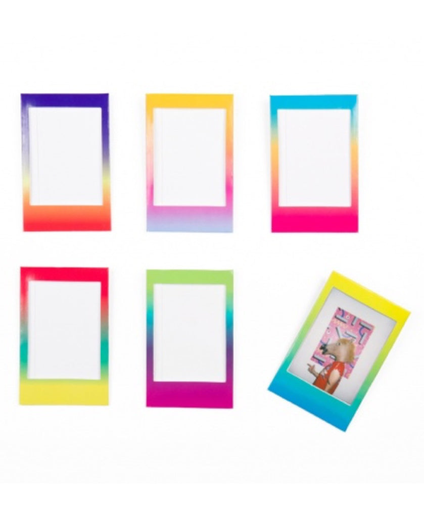 DOIY 6 gradient magnetic photo frames