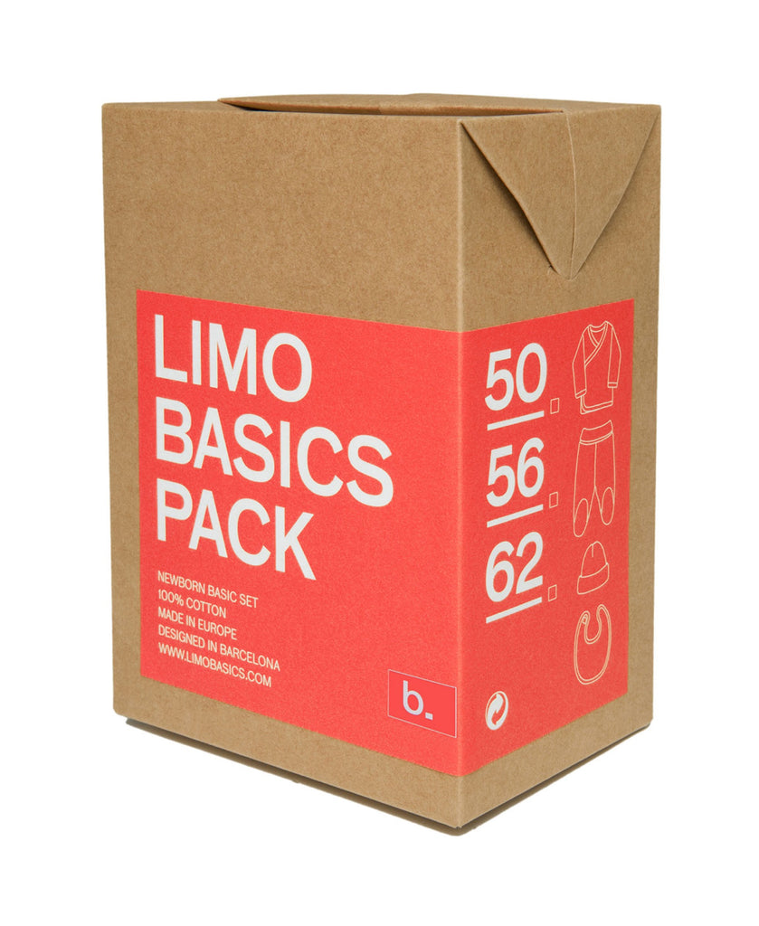 Limo Basics red baby gift pack