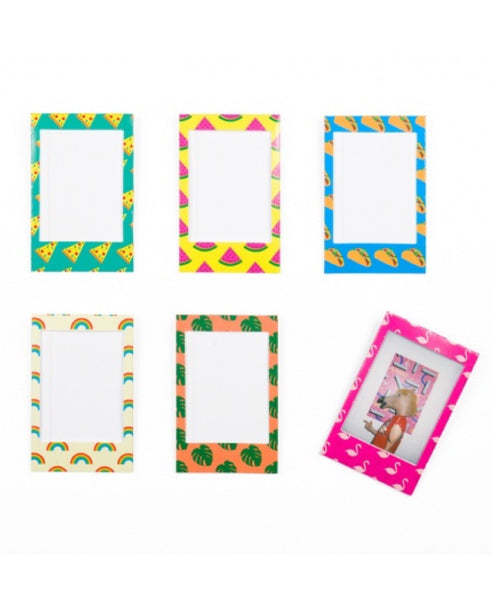 DOIY 6 icon magnetic photo frames