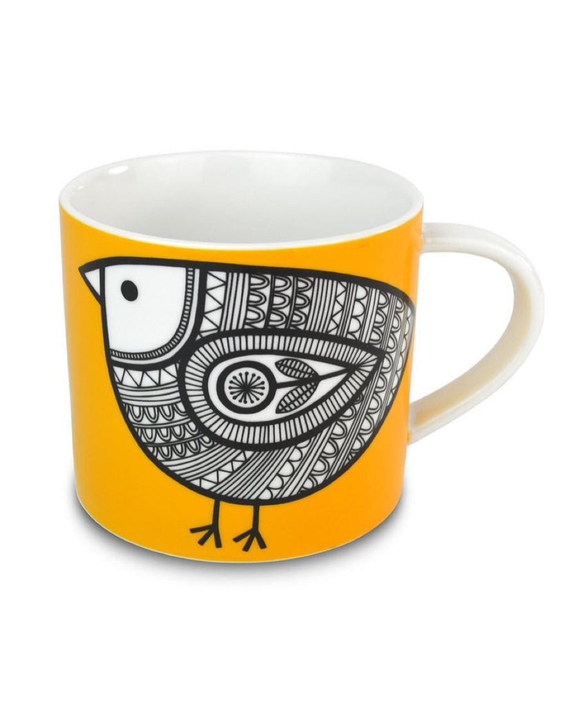 Jane Foster Scandi Linea yellow chick mug