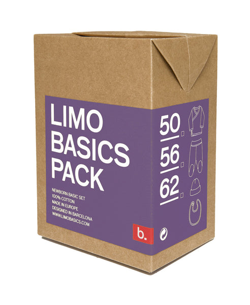 Limo Basics lilac baby gift pack