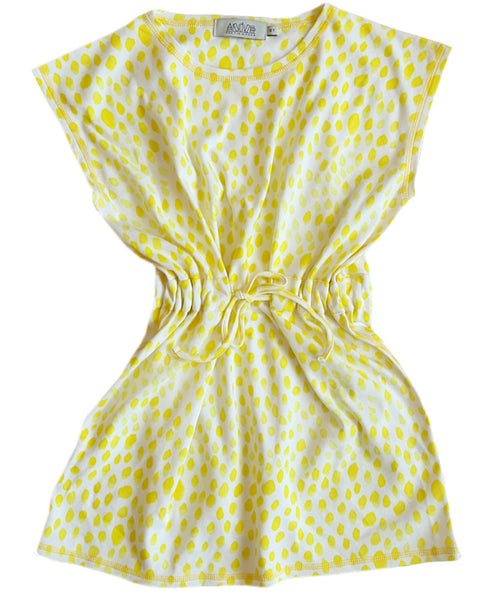 Anive for Minors square citrus dress
