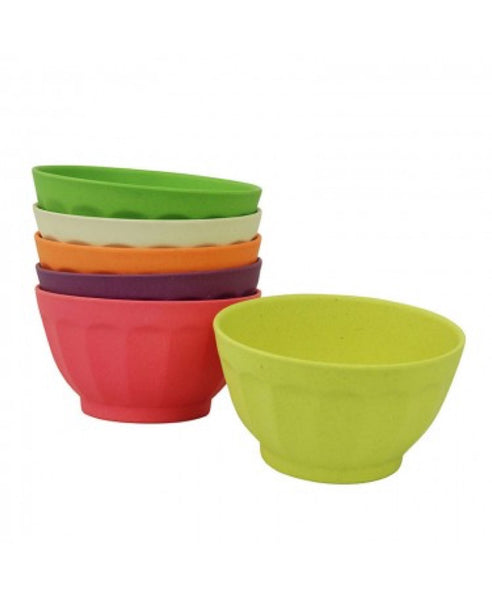 Zuperzozial set of 6 large sweet fortune bowls