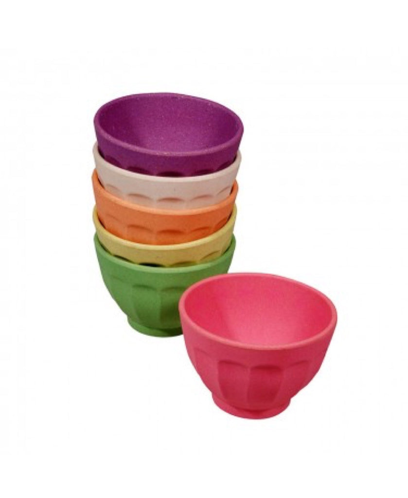 Zuperzozial set of 6 sweet fortune bowls