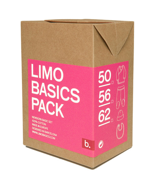 Limo Basics pink baby gift pack