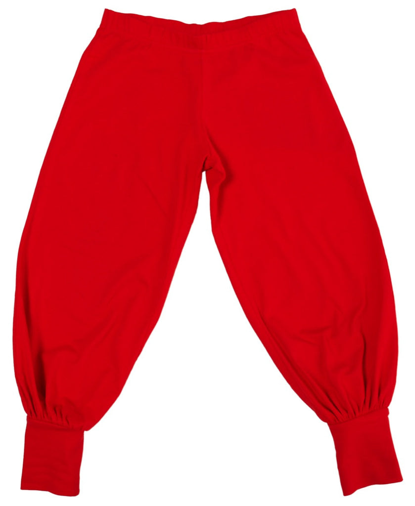 More Than a Fling red trousers
