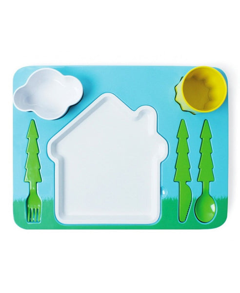 DOIY child's landscape dinner set