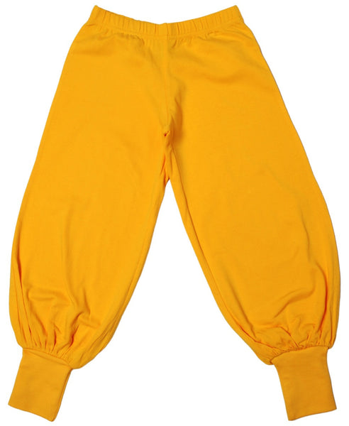 More Than a Fling yellow trousers