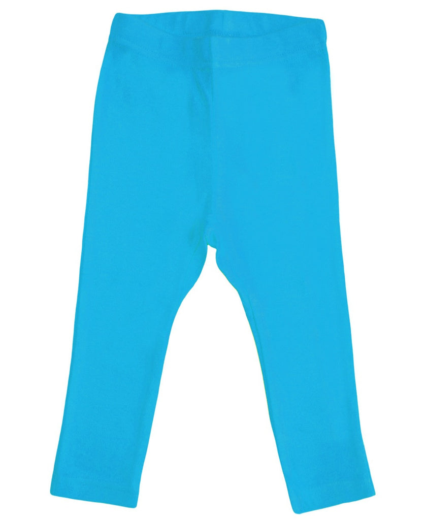 More Than a Fling turquoise leggings