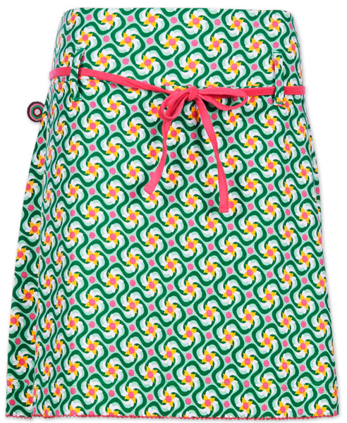 4funkyflavours green floral adult skirt