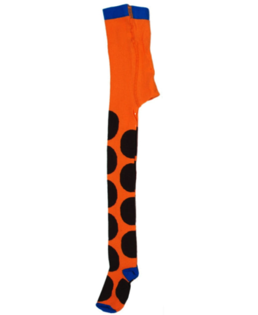 DUNS Sweden orange spotty tights