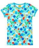 DUNS Sweden turquoise balloons t-shirt