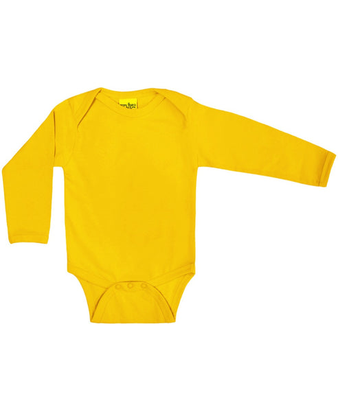 More Than a Fling yellow baby vest